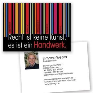 Rechtsanwältin Simone Weber. München, Arbeitsrecht, Mietrecht